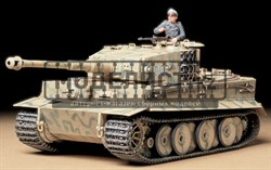Тяжелый танк Tiger I Ausf.E mid production 1943г. c 1 фигурой командира
