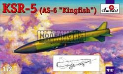 KSR-5 (AS-6 'Kingfish') long-range anti-ship missile