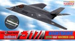 Самолет  LOCKHEED F-117A NIGHTHAWK 37TFW USAF NOVEMBER 1988  (1:144)