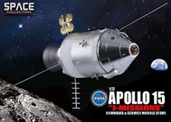 "Космический аппарат  NASA APOLLO 15 ""J-MISSION"" COMMAND & SERVICE MODULE (CSM)  (1:72)"